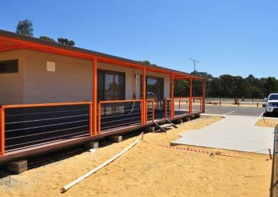 Transportable Land sales office