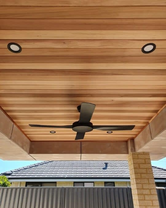 Southern River Cedar Outdoor Ceiling